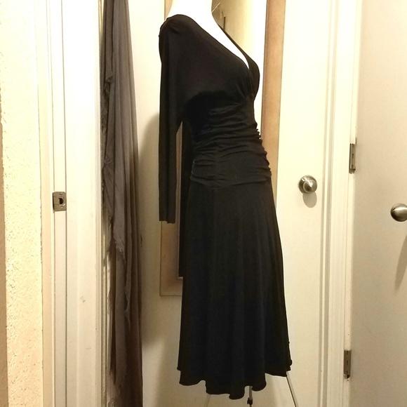 Velvet by Graham & Spencer Dresses & Skirts - VELVET by Graham & Spencer Ruched Midi Dress